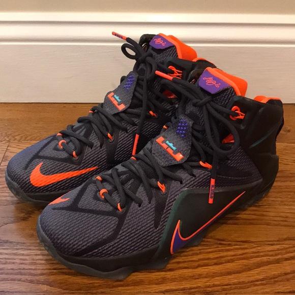 Nike LeBron James 12 Instinct Basketball Sneakers.  M 5b6b5a1a0e3b867045d88d74 10ee16951